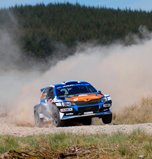 Palletforce Rally Driver Celebrates Landmark Victory