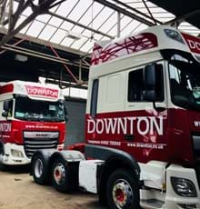 New Downton trucks hit the road in £5 million fleet investment
